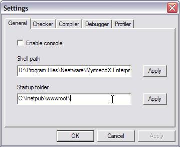 MyrmecoX: IDE